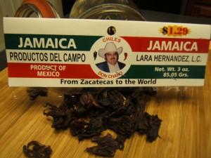 Jamaica Tea in packaging