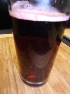 Just steeped & poured- see the deep clart red color