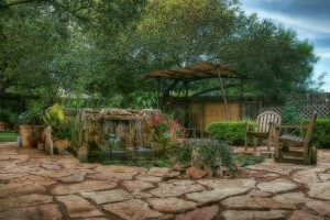 My Backyard in Leander, Texas